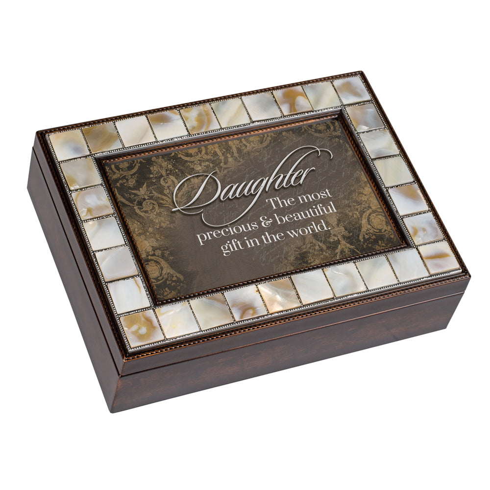DAUGHTER MOST PRECIOUS GIFT JEWELRY BOX