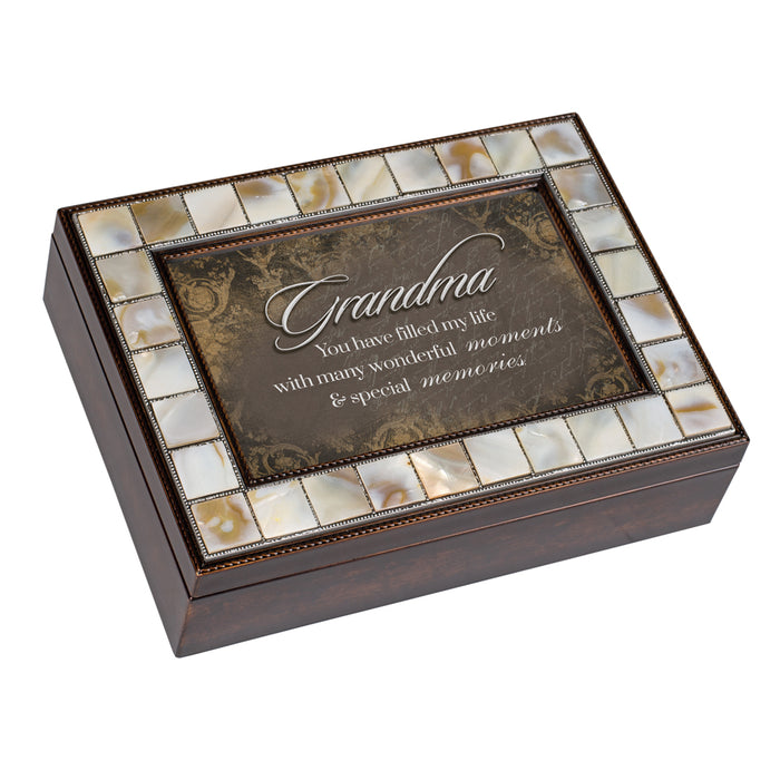 GRANDMA MOMENTS MEMORIES JEWELRY BOX