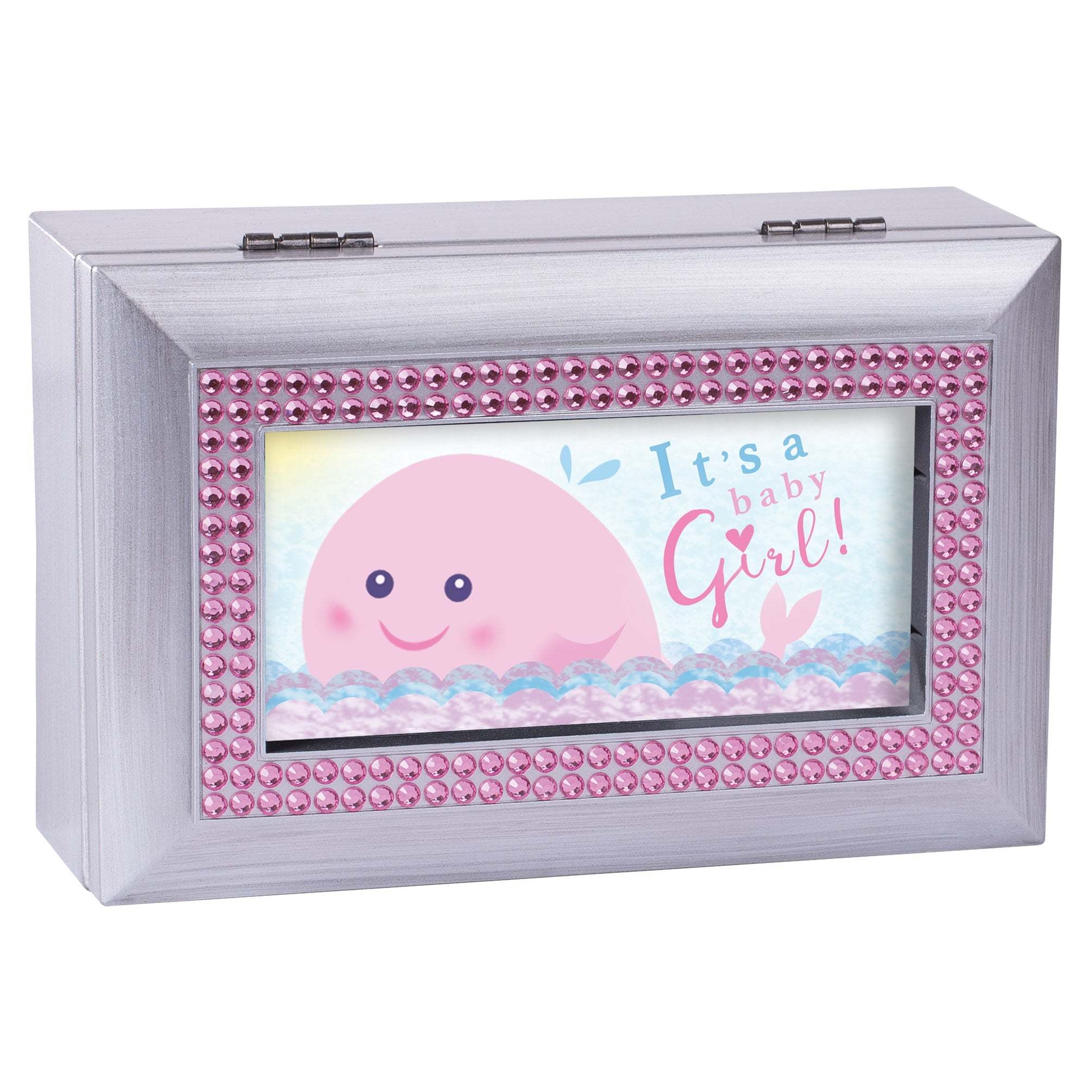A BABY GIRL MUSIC BOX