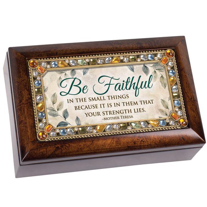 FAITHFUL IN SMALL THINGS MUSIC BOX