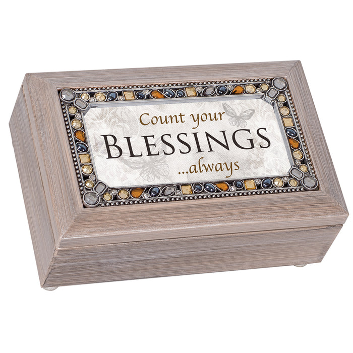 COUNT YOUR BLESSINGS ALWAYS MUSIC BOX