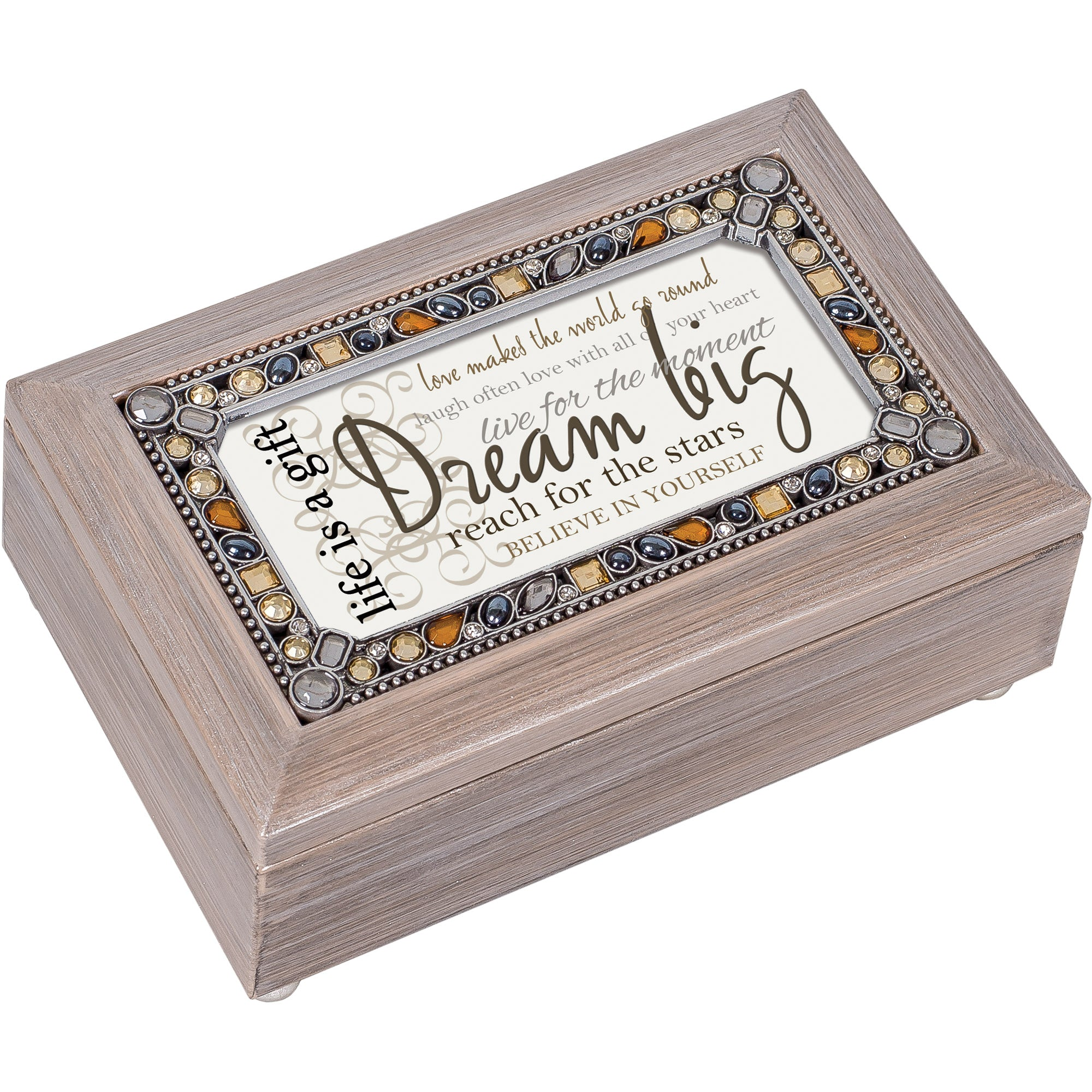 DREAM BIG BELIEVE IN YOURSELF MUSIC BOX