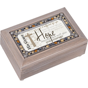 GRACE OF HOPE WILL PROTECT YOU MUSIC BOX