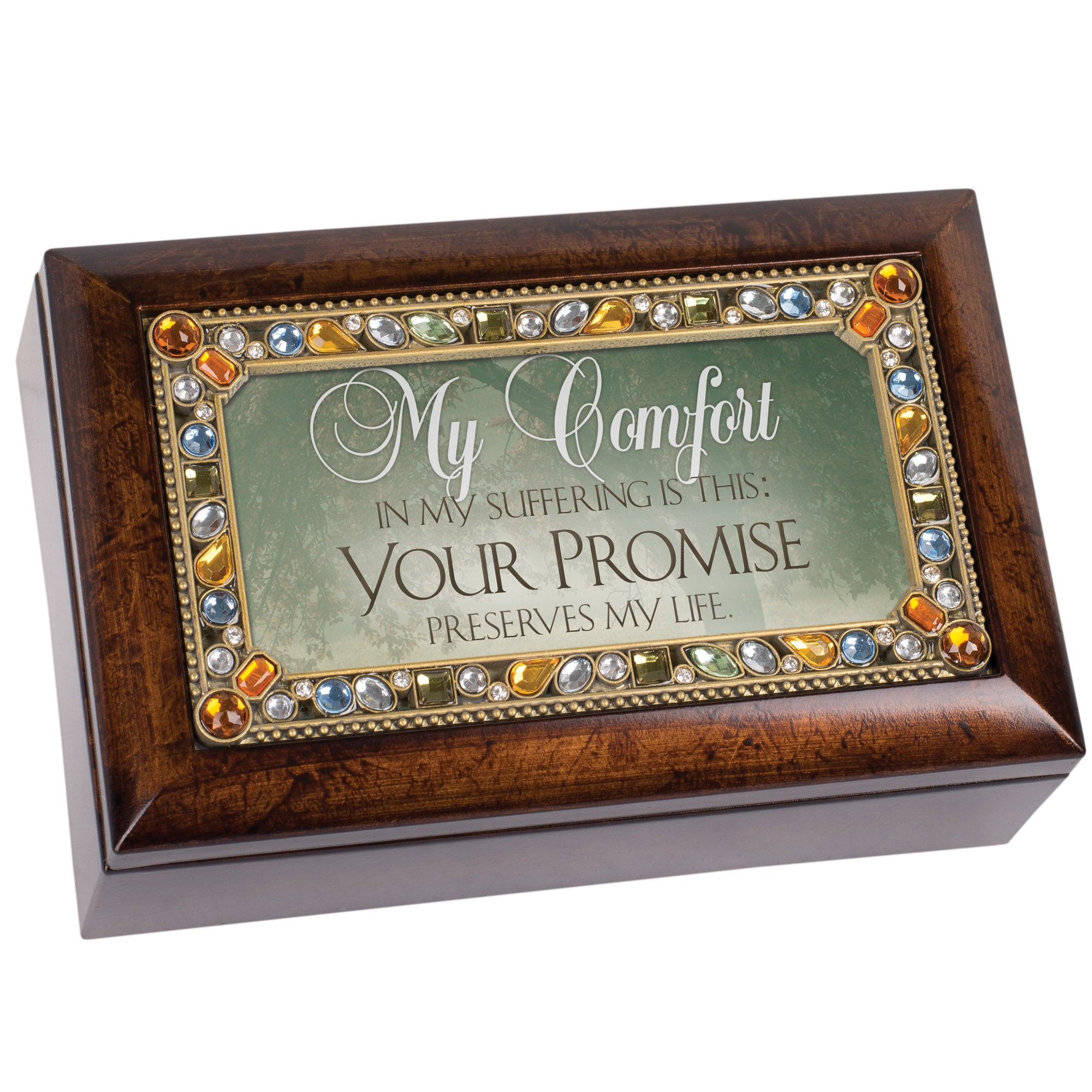 COMFORT YOUR PROMISE PRESERVES MUSIC BOX