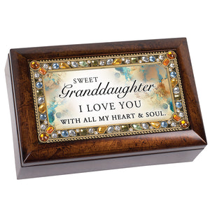 GRANDDUAGHTER/I LOVE YOU MUSIC BOX