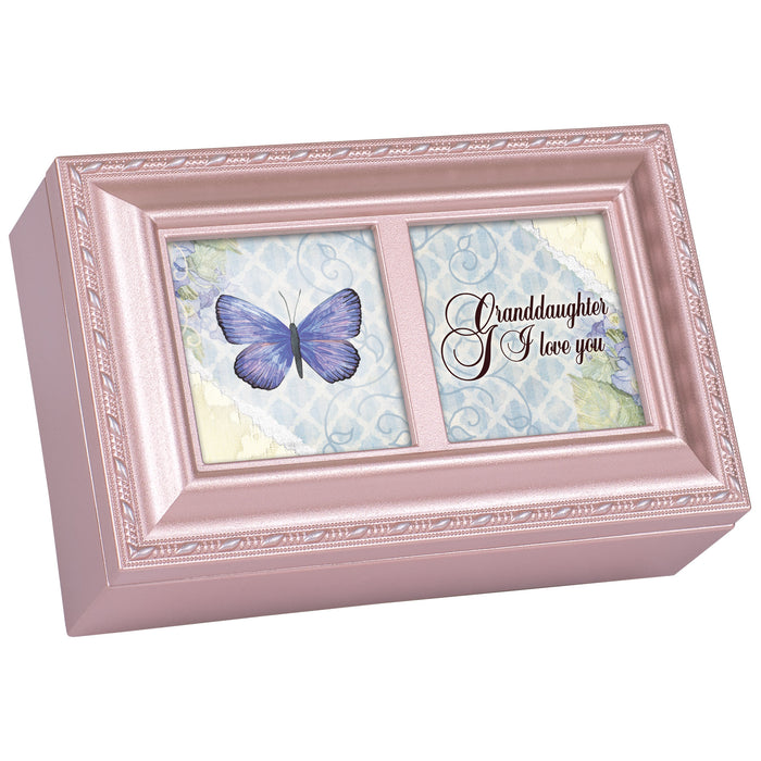 GRANDDAUGHTER PINK JEWELRY BOX