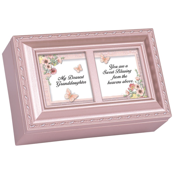 DEAREST GRANDDAUGHTER JEWELRY BOX