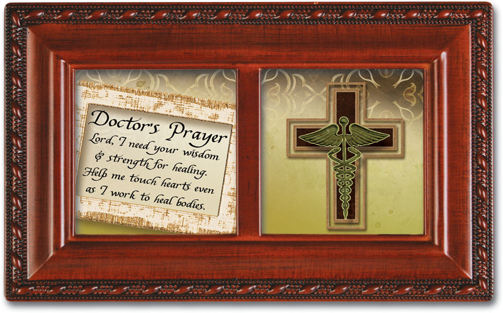 DOCTORS PRAYER JEWELRY BOX