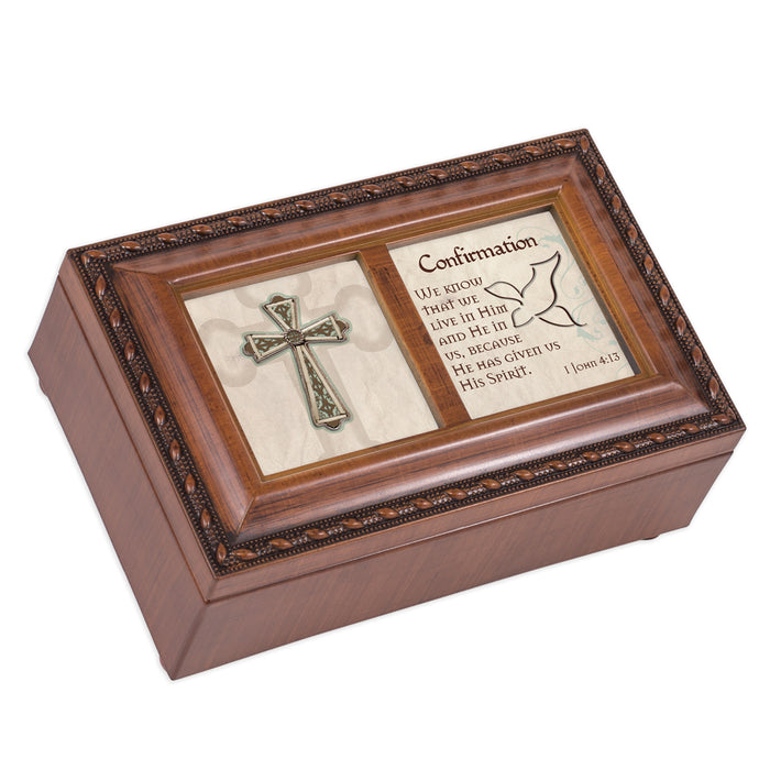 CONFIRMATION DOVE JEWELRY BOX
