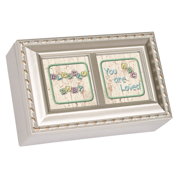 BLESSED BABY BLOCKS JEWELRY BOX