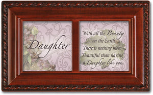 DAUGHTER BLESSING JEWELRY BOX