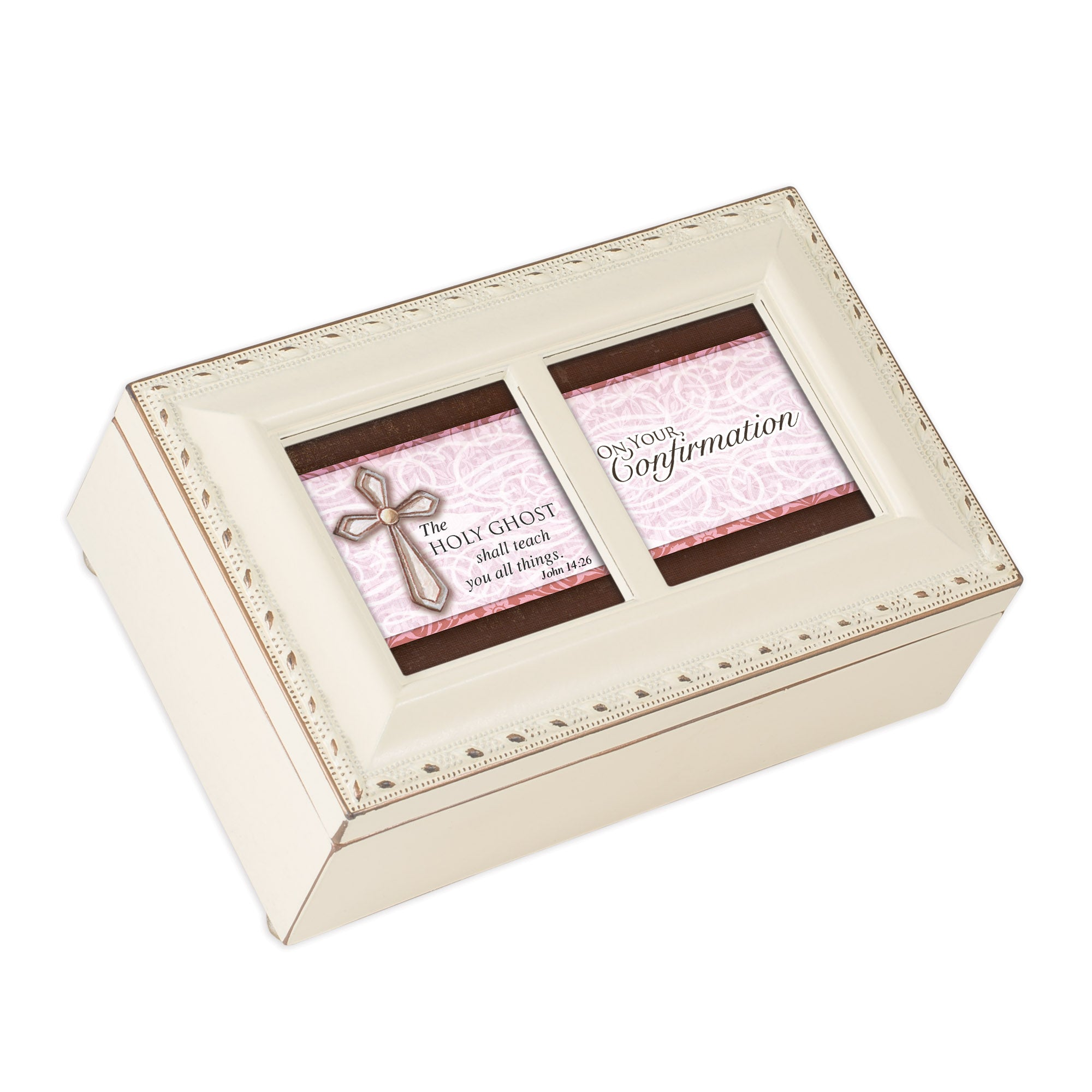 CONFIRMATION GIRL JEWELRY BOX