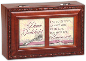 DEAR GODCHILD JEWELRY BOX