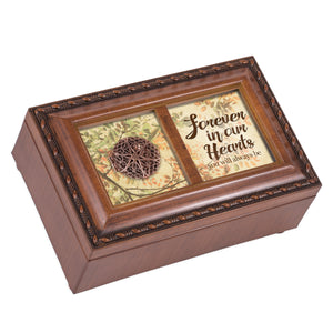 FOREVER IN OUR HEARTS ALWAYS JEWELRY BOX