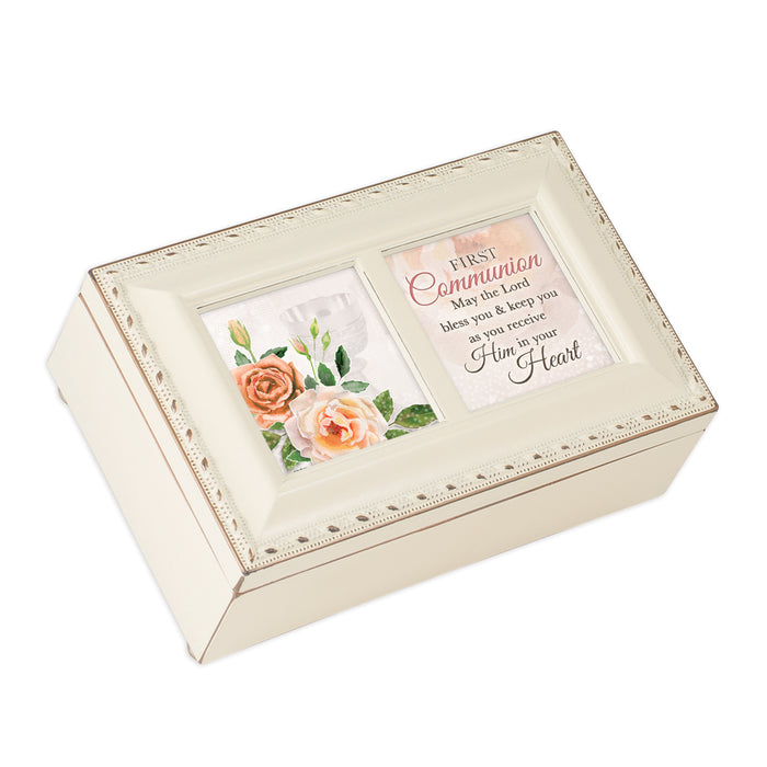 FIRST COMMUNION LORD BLESS YOU JEWELRY BOX