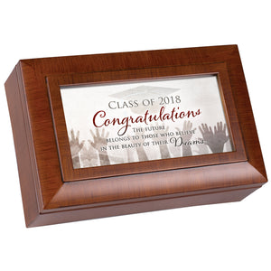 GRADUATION BELIEVE IN DREAMS JEWELRY BOX