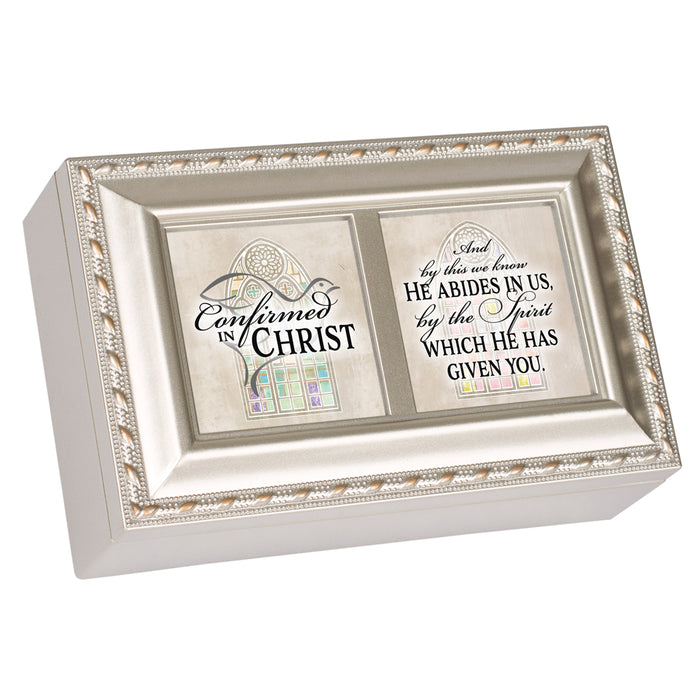 CONFIRMED IN CHRIST BY SPIRIT JEWELRY BOX