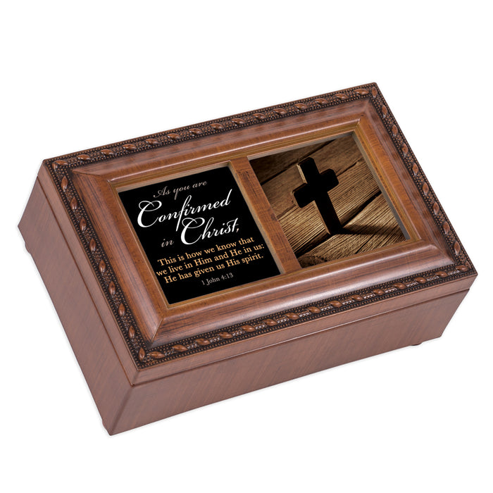 AS YOU ARE CONFIRMED IN CHRIST JEWELRY BOX