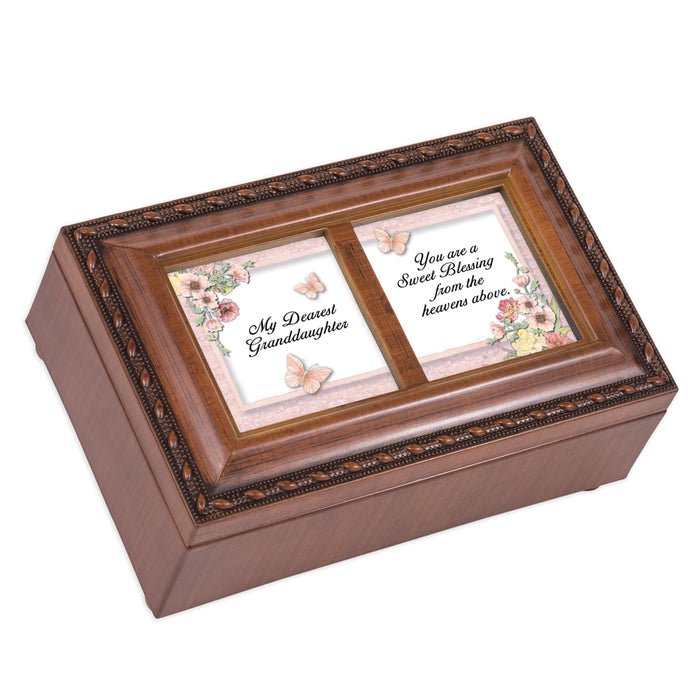 GRANDDAUGHTER SWEET BLESSING JEWELRY BOX
