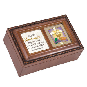 COMMUNION LORD BLESS YOU & KEEP YOU JEWELRY BOX