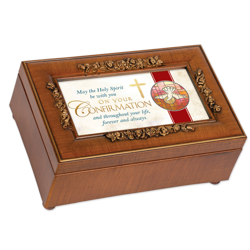 CONFIRMATION HOLY SPIRIT WITH YOU MUSIC BOX