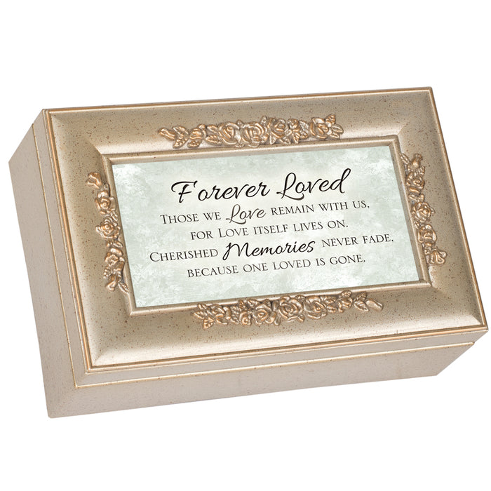 FOREVER LOVED CHERISHED MEMORIES MUSIC BOX