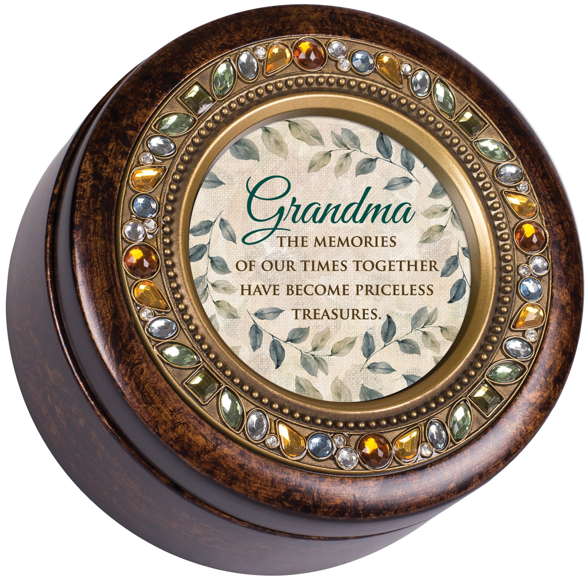 GRANDMA MEMORIES TREASURES MUSIC BOX