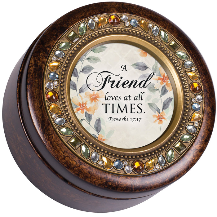A FRIEND LOVES AT ALL TIMES MUSIC BOX