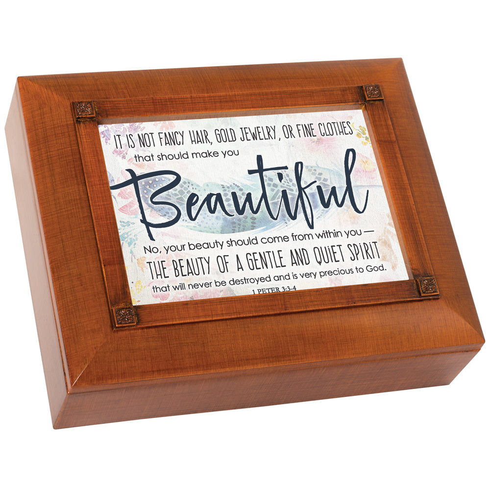 BEAUTY SHOULD COME FROM WITHIN KEEPSAKE BOX