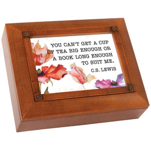 CUP OF TEA KEEPSAKE BOX