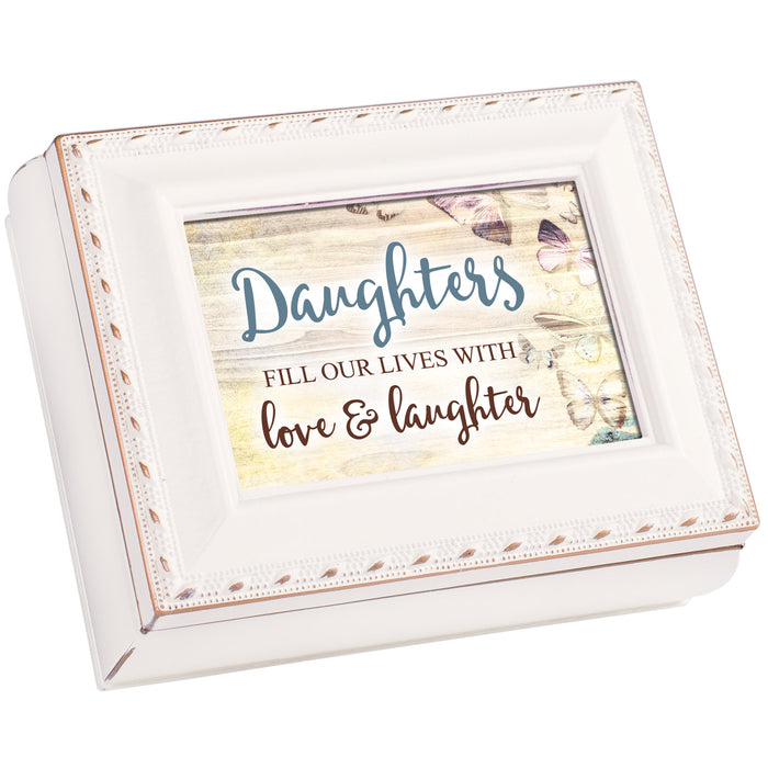 DAUGHTERS FILL LIVES WITH LOVE KEEPSAKE BOX