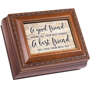 FRIEND ALL YOUR BEST STORIES LIVED KEEPSAKE BOX
