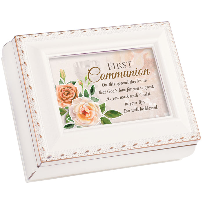 FIRST COMMUNION SPECIAL DAY KEEPSAKE BOX
