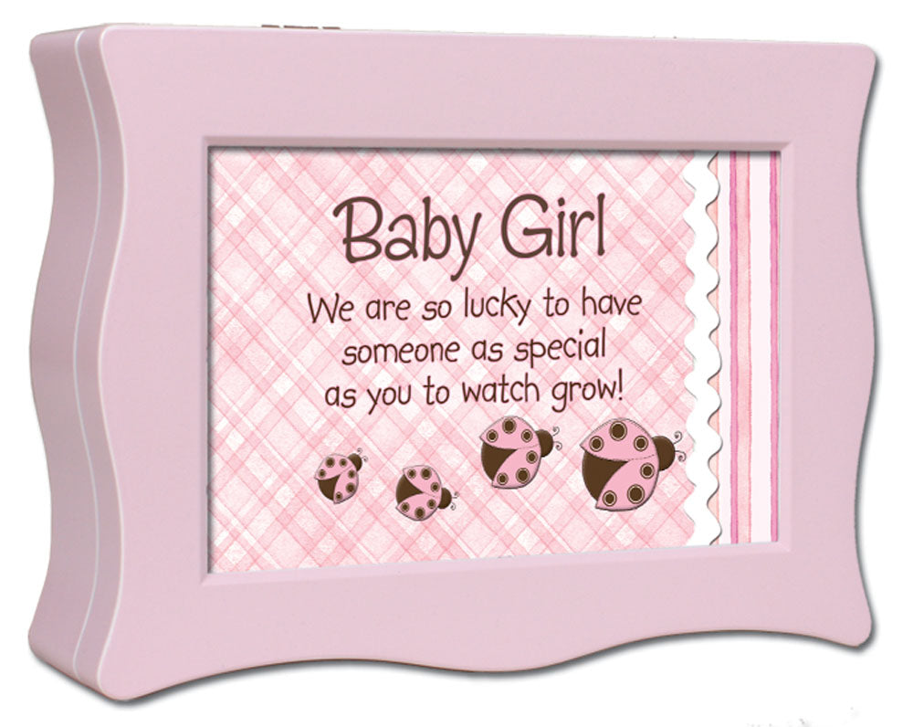 BABY GIRL MUSIC BOX