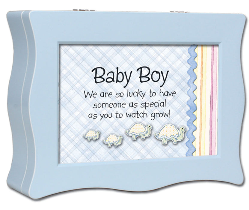 BABY BOY MUSIC BOX