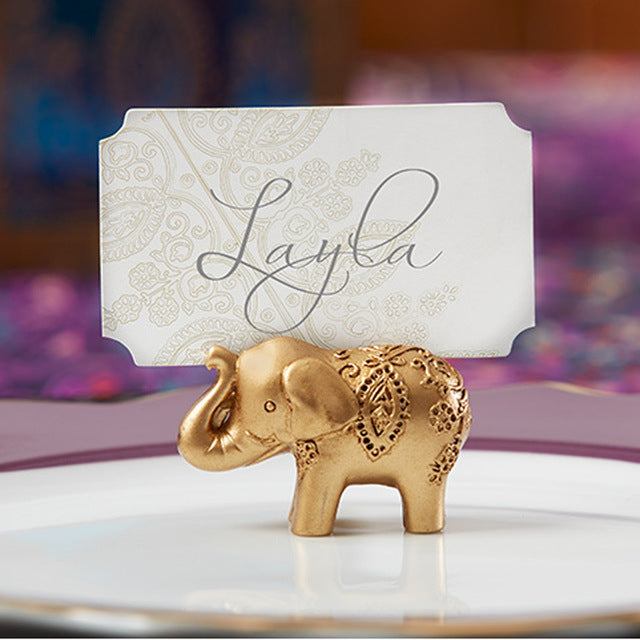 Lucky Golden Elephant Place Card Holders (5941318405)