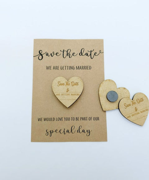 Heart save the date magnet (3527052001364)