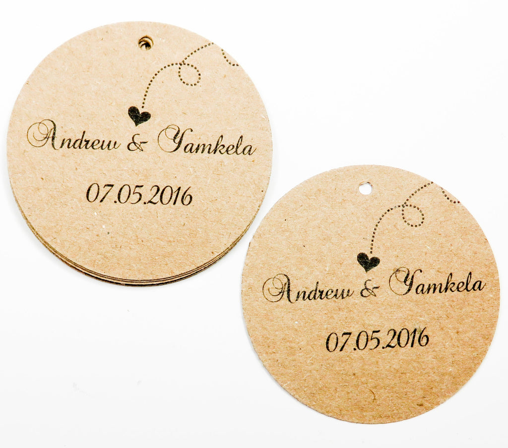 Simple Rustic Thank You Tag