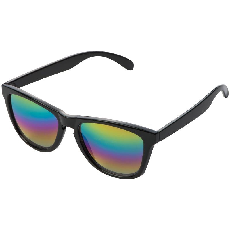 Cool retro sunglasses with mirror lens finish