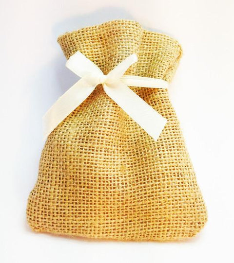 Miniature Hessian Gift Bag