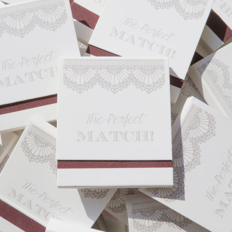 The Perfect Match - Matchbook