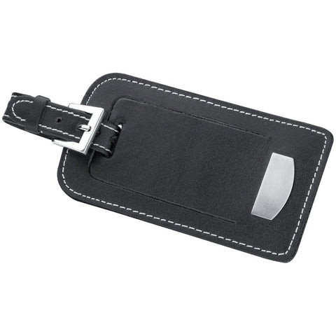 Stylish leather luggage tag favours
