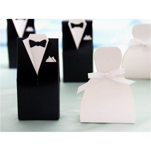 Tux wedding favour box