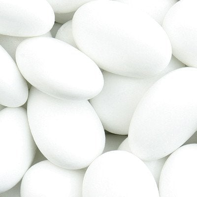 White sugar coated almonds (3696433758292)