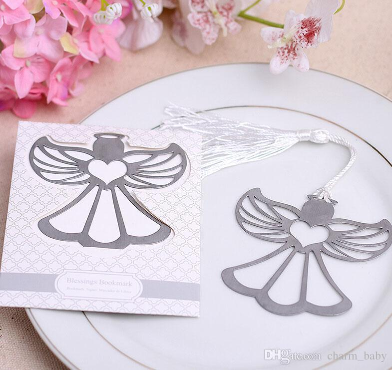 Blessings Of An Angel Bookmark Simply Wedding Favours