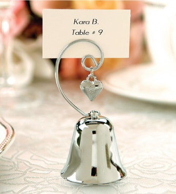Charming Bell Placeholder for Wedding Guests (89877149)