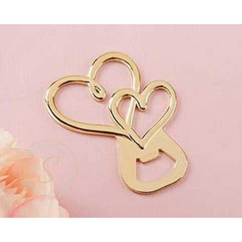 Two Hearts Bottle Opener