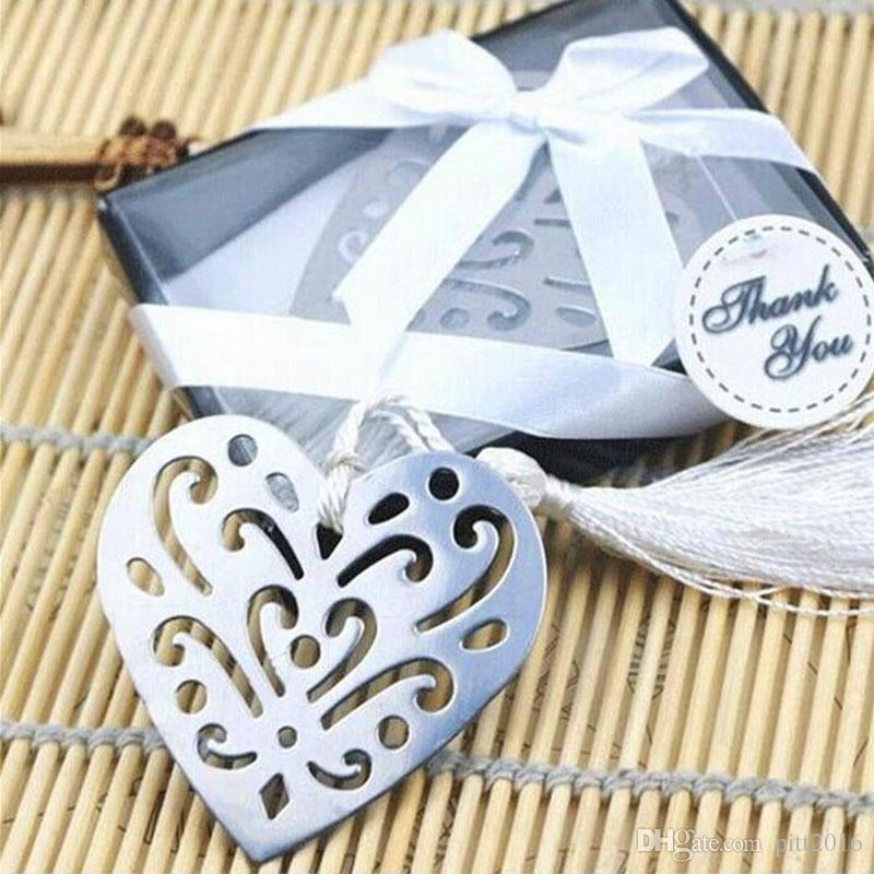 Love Story Heart Bookmark Favour