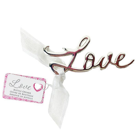 Love Bottle Opener Wedding Favours