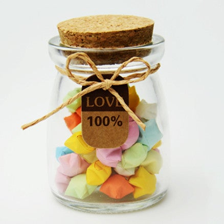 Miniature Glass Jar with Cork Lid